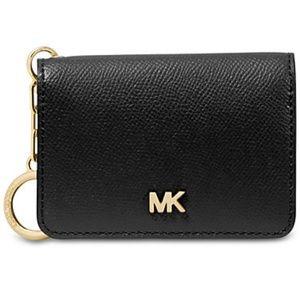 NWT Michael Kors Leather Key Ring Cardholder $58